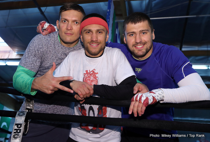 Miguel Marriaga, Vasyl Lomachenko - Ukraine's Vasyl Lomachenko is so good, fans do not want to see him fight against anything other than truly elite opposition, each and every time out. The two-weight champ with the deceiving pro record – 8-1(6) in no way being numbers that are indicative of the 29 year old southpaw's formidable talents – wants the big, big fights himself, but for now he must make do with the Jason Sosas and Miguel Marriagas of the world.