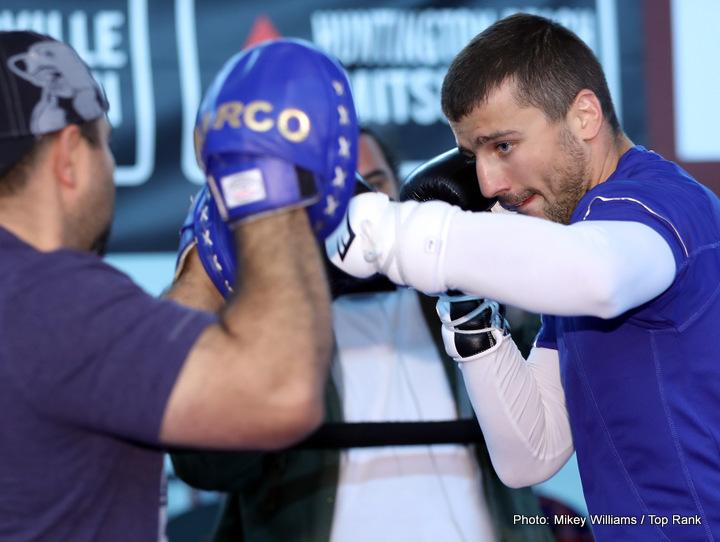 Jason Sosa Oleksandr Gvozdyk Oleksandr Usyk Vasyl Lomachenko Boxing News