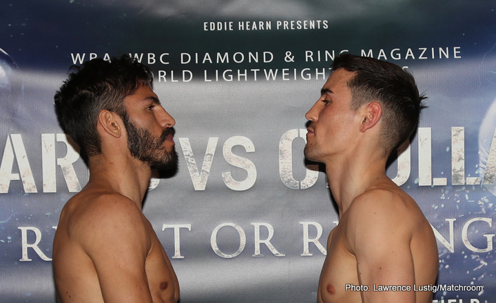 Anthony Crolla, Jorge Linares - Manchester Arena in England will be jam-packed again for a rematch from an entertaining dust-up between Jorge Linares and Anthony Crolla this Saturday. In the states Showtime, currently leaving HBO in the dust, will be the broadcaster of this lightweight showdown in the afternoon. The big question heading into this rematch is what if anything can Crolla do differently?