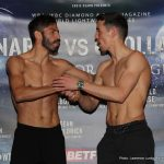 Anthony Crolla - WBA Lightweight World Champion Jorge Linares and his British counterpart Anthony Crolla both weighed in at 134 ½ pounds for their lightweight title rematch tomorrow/Saturday, March 25 at Manchester Arena live on SHOWTIME® (6 p.m. ET/3 p.m. PT).