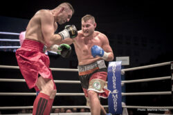 Tom Schwarz - PRAGUE – A fully packed Kralovka Arena in Prague proved to be a venue for some stellar boxing spectacle this past Saturday. All in all, ten fights were scheduled – and each had its own, unique script. Among those who impressed the most were Stepan Horvath (18-5-0, 8 KOs), Josef Zahradnik (8-0-0, 4 KOs), Lucie Sedlackova (9-0-1, 4 KOs) and Fabiana Bytyqi (10-0-0, 3 KOs), but unfortunately, their stellar fights had no such support from the crowd as the planned visit of American boxing legend Floyd Mayweather eventually failed to materialize.