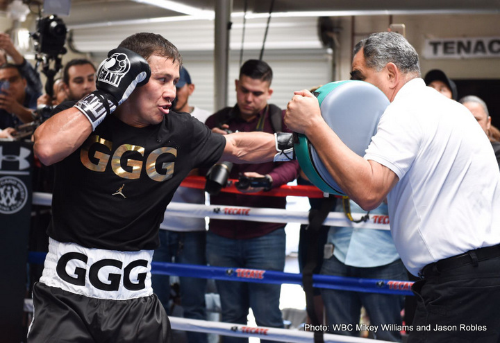 "Gennady Golovkin, Saul ""Canelo"" Alvarez - Boxing News"