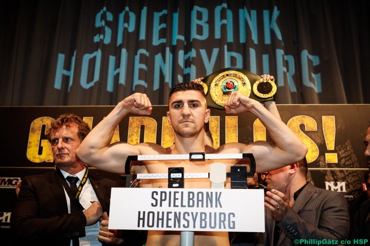 Marco Huck - Last seen losing via tenth-round TKO to Oleksandr Usyk in the cruiserweight WBSS tournament, former long-reigning WBO 200 pound champ Marco Huck says he is not finished and that he can be expected to be back in the ring next year – possibly up at heavyweight.