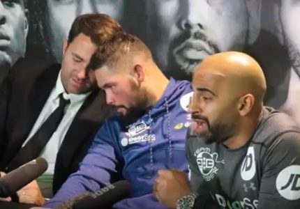 "Tony Bellew says a fight between he and Tyson Fury ""can happen"""