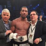 """Jack Culcay - Demetrius Andrade (24-0, 16 KOs) had a better engine in powering past WBA World junior middleweight champion Jack Culcay (22-2, 11 KOs) in defeating him by a 12 round split decision on Saturday night in front of a large pro-Culcay crowd at the Friedrich-Ebert Halle in Ludwigshafen, Germany. The taller 6'1"""" Andrade threw more punches, and did a good job of using his height to his benefit in defeating Culcay."""