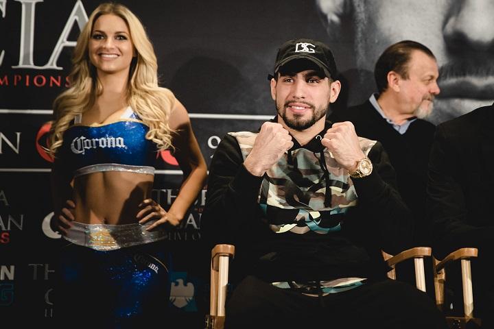 Brandon Rios, Danny Garcia - Showtime Boxing will be televising a welterweight match between former world champions Brandon 'Bam Bam' Rios (34-3-1, 25 KOs) and Danny 'Swift' Garcia (33-1, 19 KOs) on February 17 in Las Vegas, Nevada. Garcia vs. Rios will be the main event in the main event on Showtime televised card in Vegas.