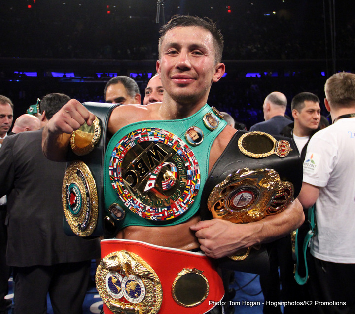 Gennady Golovkin Terence Crawford Vasyl Lomachenko Boxing News Top Stories Boxing