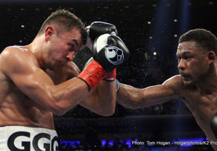 Danny Jacobs comes oh, so close to beating Gennady Golovkin! Rematch?