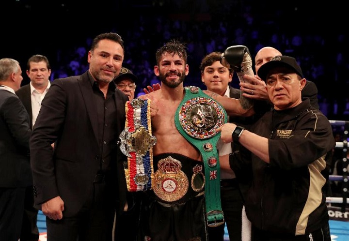 Jorge Linares - Boxing is all about levels and, without in any way wishing to disrespect the incredibly brave and courageous (in and out of the ring) Anthony Crolla, Jorge Linares proved last night in his rematch with Crolla that he is a top level fighter of the highest order, a far, far better boxer than Crolla.