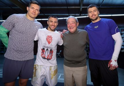 Vasyl Lomachenko and Oleksandr Usyk quotes