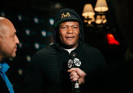 Luis Ortiz fights Derric Rossy on 4/22