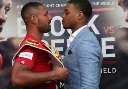 Brook: Spence never fought an animal like me