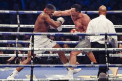 Anthony Joshua was crowed the king of the heavyweight division Saturday live on SHOWTIME as he unified the division with an 11th round TKO of long-reigning champion Wladimir Klitschko before a record 90,000 fans at London's Wembley Stadium.