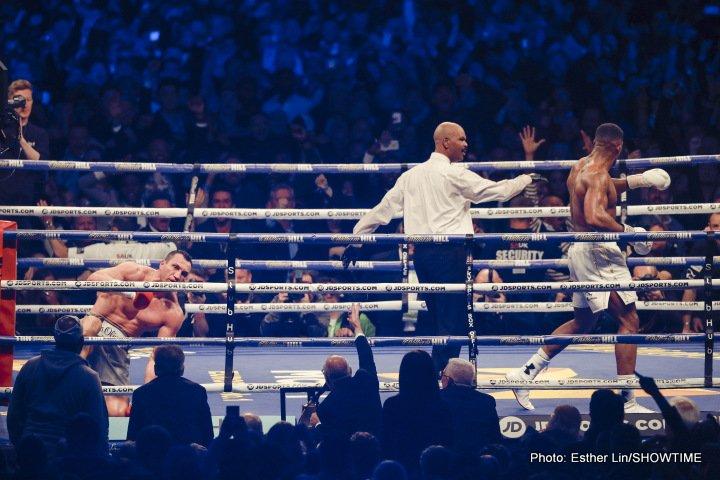 Anthony Joshua Deontay Wilder Wladimir Klitschko Boxing News