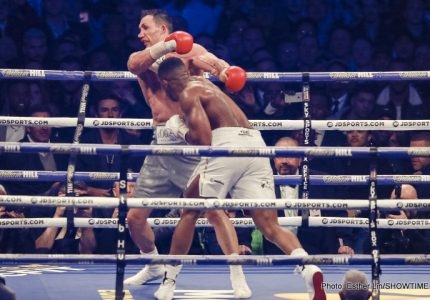 Anthony Joshua Knocks Out Wladimir Klitschko To Become Unified Heavyweight World Champion