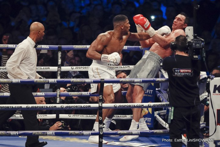 Vitali Klitschko: There Was A Desire To Tear Off Anthony