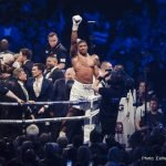 Anthony Joshua, Tyson Fury - Last night's thrilling fight between new star Anthony Joshua and old lion Wladimir Klitschko was, big, big, big – but talk has already begun for a fight that could set the bar even higher: Joshua Vs. Tyson Fury.