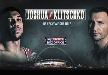 Joshua vs Klitschko: Officials named for Saturday's showdown