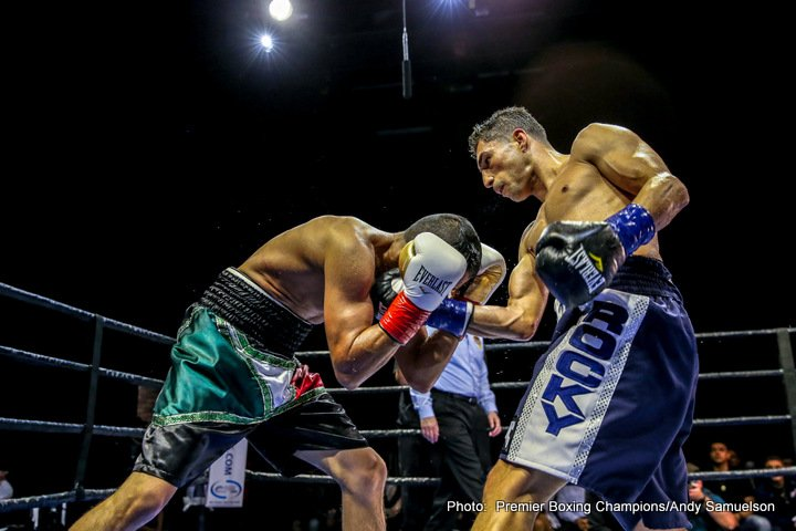 Josesito Lopez - Josesito Lopez (35-7, 19 KOs) earned a decisive unanimous decision (100-89, 100-89, 100-89) over Saul Corral (21-9, 12 KOs) in the Ringstar Sports promoted main event of Premier Boxing Champions on FS1 & FOX Deportes from The Novo at L.A. Live.