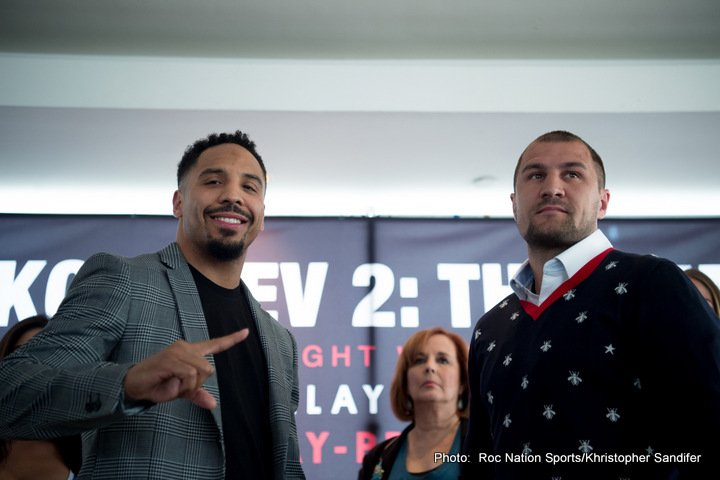 Andre Ward Sergey Kovalev Boxing News British Boxing