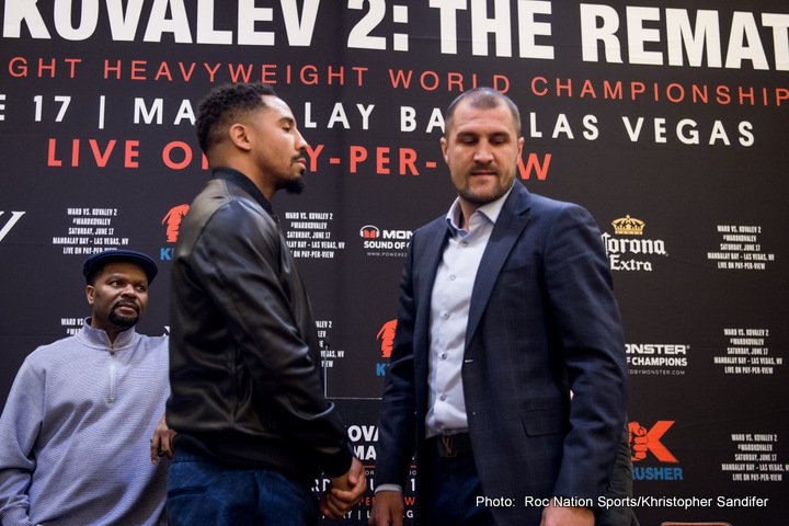 Ward-Kovalev - Oakland press conference quotes — Boxing News