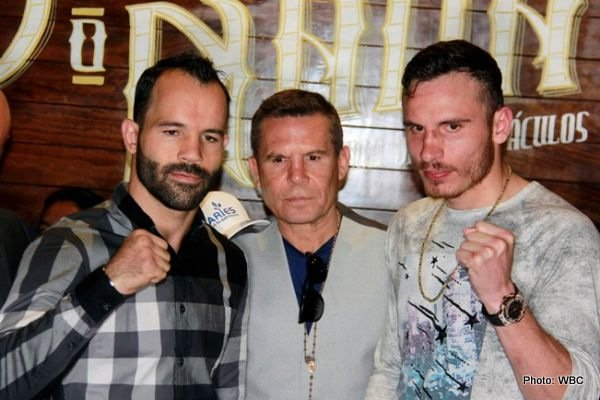 - This Saturday night in Las Vegas we will see the massive Battle of Mexico, between stars Saul Canelo Alvarez and Julio Cesar Chavez Jr. All of Mexico will be watching, but last night, in a much smaller fight down at 154, the brothers of Canelo and Chavez Jr. fought a rematch of their 2014 fight.