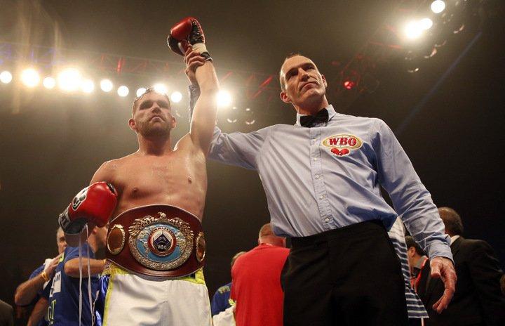 Billy Joe Saunders Tyson Fury Boxing News British Boxing