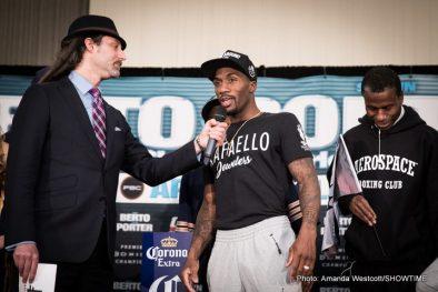 Andre Berto Shawn Porter Boxing News