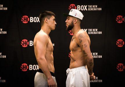Dmitry Bivol vs. Samuel Clarkson – official weights