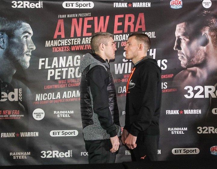 Liam Smith Liam Williams Boxing News British Boxing