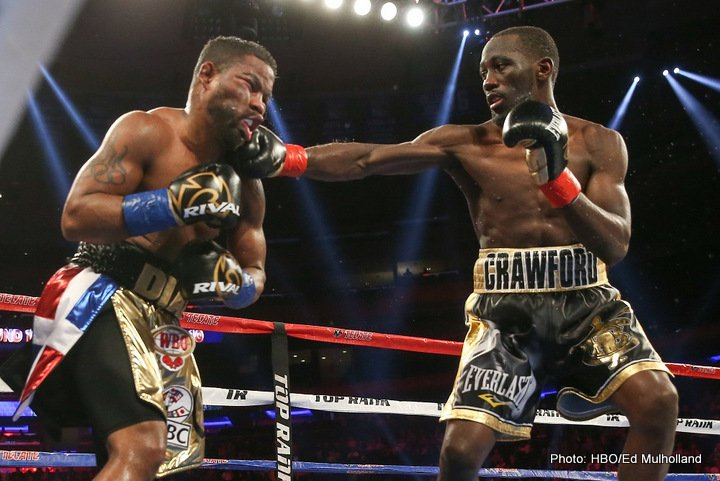 Felix Diaz Terence Crawford Boxing News Boxing Results