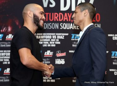 Felix Diaz Ray Beltran Shakur Stevenson Terence Crawford Boxing News