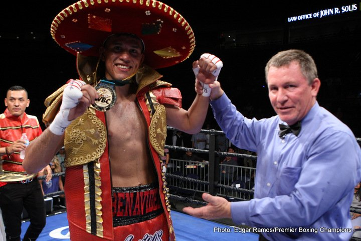 David Benavidez vs. Ronald Gavril on Showtime on 9/8