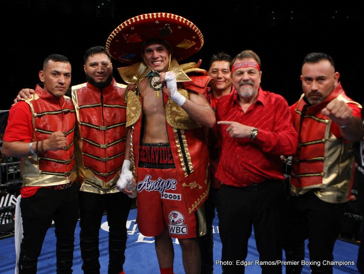 David Benavidez's goal is to KO Ronald Gavril