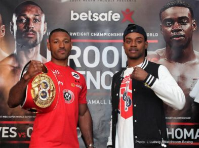 Errol Spence, Kell Brook -  SHOWTIME CHAMPIONSHIP BOXING® Live At 5:15 p.m. ET/2:15 p.m. PT