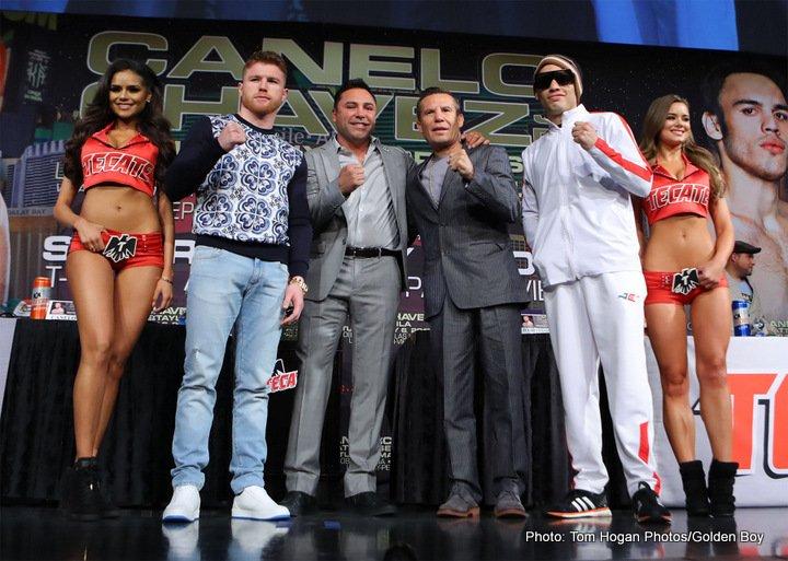"""Julio Cesar Chavez Jr. Saul """"Canelo"""" Alvarez Boxing News"""