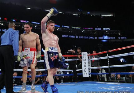 De La Hoya: There is no limit to Canelo's star power