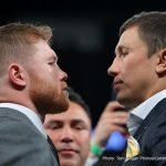 "Gennady Golovkin, Saul ""Canelo"" Alvarez - T-Minus two days and counting until undefeated World Middleweight Champion and boxing's superhero GENNADY ""GGG"" GOLOVKIN makes his 21st and division record-breaking title defense.  It's taken nearly one year but Golovkin will finally get the rematch he and the world have craved, against former two-division world champion Saul ""Canelo"" Alvarez.  And what a long strange trip it's been to get here."