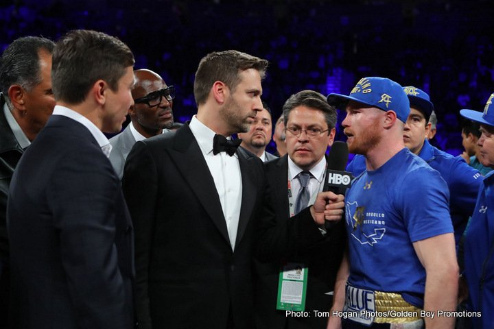 "Gennady Golovkin Julio Cesar Chavez Jr. Saul ""Canelo"" Alvarez Boxing News Boxing Results Top Stories Boxing"