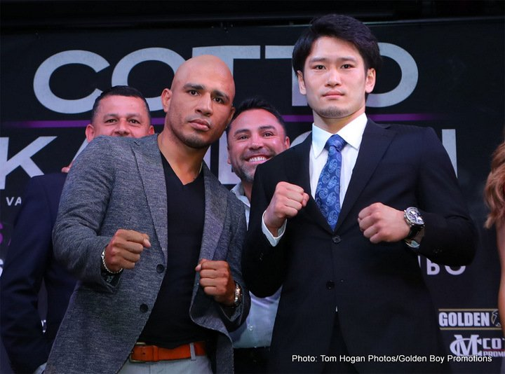 Yoshihiro Kamegai -  Summer sizzles when WORLD CHAMPIONSHIP BOXING: MIGUEL COTTO VS. YOSHIHIRO KAMEGAI AND REY VARGAS VS RONNY RIOS is seen SATURDAY, AUG. 26 at 9:45 p.m. (live ET/tape-delayed PT) from StubHub Center in Carson, Cal., exclusively on HBO. The HBO Sports team will call the action, which will be available in HDTV, closed-captioned for the hearing-impaired and presented in Spanish on HBO Latino.