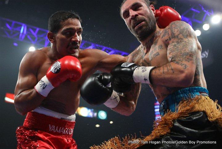 Robinson Castellanos Yuriorkis Gamboa Boxing News Boxing Results