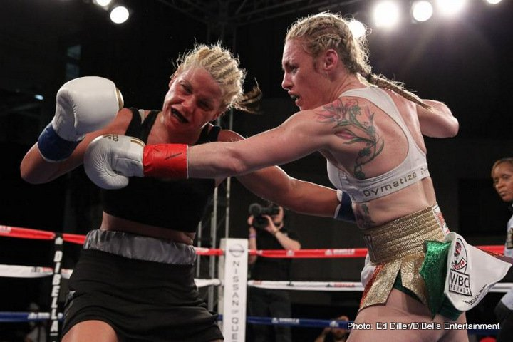 Heather Hardy Victorious On Broadway Boxing's Return To New York