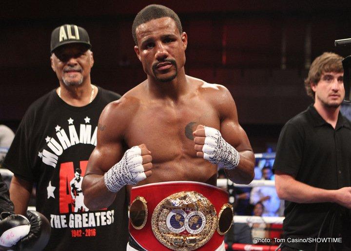 Andre Dirrell Jose Uzcategui Boxing News Boxing Results