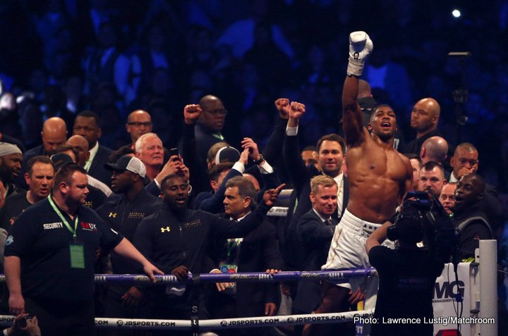 Anthony Joshua Wladimir Klitschko Boxing News British Boxing