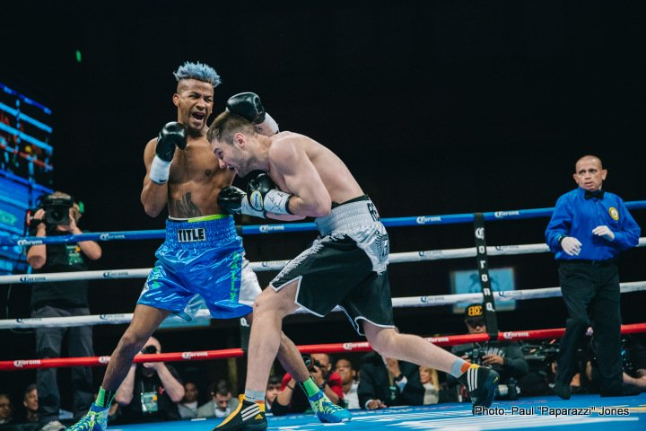 Gary Russell Jr. Oscar Escandon Boxing News Boxing Results