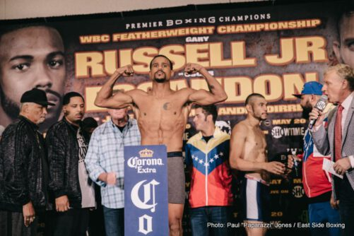 "Gary Russell Jr., Oscar Escandon - By Paul ""Paparazzi"" Jones 