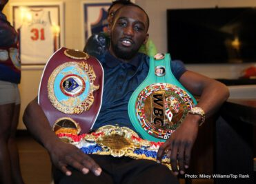 "Felix Diaz, Ray Beltran, Shakur Stevenson, Terence Crawford - Undefeated World Junior Welterweight Champion and top pound for pound fighter TERENCE ""Bud"" CRAWFORD (30-0, 21 KOs), of Omaha, Neb., will make his 2017 debut, This Saturday!  May 20, at the Mecca of Boxing, Madison Square Garden.  This will also be his debut headlining in the big room -- a testament both to his talent and his growing popularity.  Crawford will be defending his unified World Boxing Organization (WBO) / World Boxing Council (WBC) / Ring magazine titles against former Olympic gold medalist and top-rated contender FÉLIX DÍAZ (19-1, 9 KOs), of Brooklyn by way of Santo Domingo, Dominican Republic, in a marquee all-action fight.  It will be televised live on HBO World Championship Boxing®, beginning at 10:15 p.m. ET/PT."