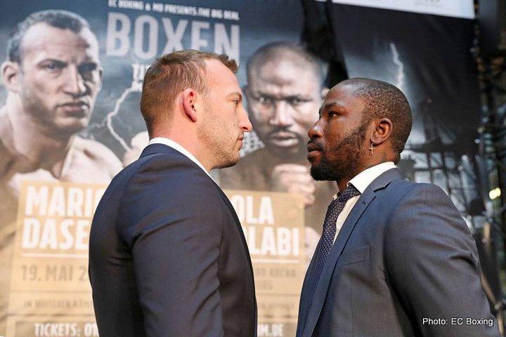 Mario Daser Ola Afolabi Boxing News