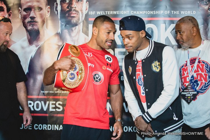 Pre-fight pick: Spence shocks Brook with mid-rounds stoppage
