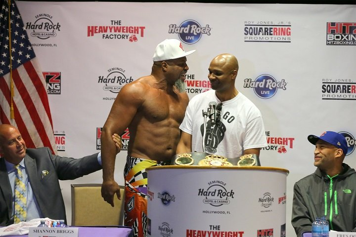 Fres Oquendo Shannon Briggs Boxing News
